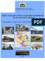 Tanzania 5 Year Development Plan