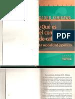 Que Es El Control Total de La Calidad --- Kaoruma Ishikawa