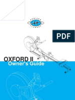 Horizon Oxford 2 Owners Manual