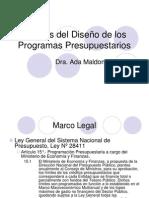 20080429 110419 Analisis Del Diseno de Los Programas Presupuestarios - Peru