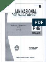 Soal Ujian Nasional 20092010 b
