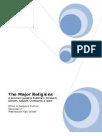 The Major Religions Word Document Sec 1 Version