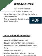 Sarvodaya Movement