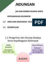 Bab 1 Konsep Budaya Dan Kelompok