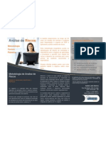 Folheto - Palestra Metodologia de Analise de Riscos