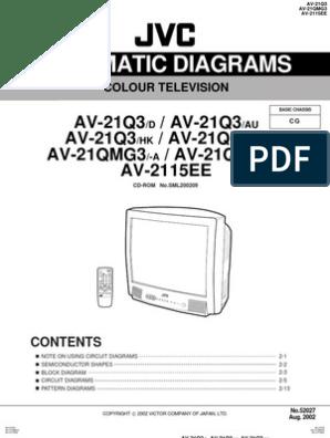[DIAGRAM_3NM]  Jvc Av21q3d Tv Sm | Capacitor | Resistor | Jvc K Series Circuit Diagram |  | Scribd