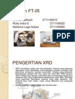 XRD dan FT-IR.ppt
