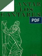 Alonso Schokel, Luis - Cantar de Los Cantares