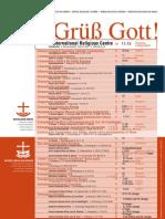GOTTESDIENSTE IN WIEN • RELIGIOUS SERVICES IN VIENNA