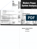 Power system analysis by d p kot
