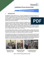 Prosonix - Sonocrystallization Proven Across Scale - 2009