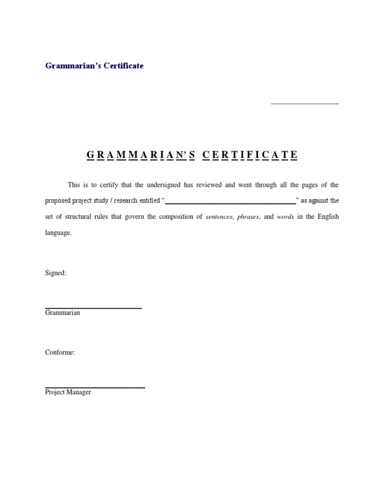 Sample certificate grammarian images certificate design and template sample certificate grammarian gallery certificate design and template sample certificate grammarian gallery certificate design and template yadclub Image collections