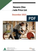 Xple Cable Price List