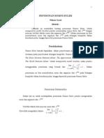 Penurunan Rumus Euler