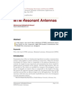 MTM Resonant Antennas