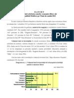 Raportul Privind Activitatea Zonelor Economice Libere Ale Republicii Moldova Pe 9 Luni Ale Anului 2012
