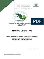 Manual operativo para las auditorias técnicas preventivas