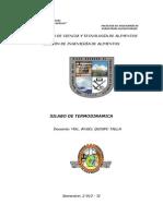 Silabo de Termidinamica - 2012 - II - Aqt - Unasam Barranca