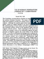 1 Cor 11.2-16 - Importance of Roman Portraiture