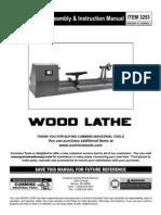 3253 Wood Lathe 5-07