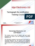 DD55468 Rev01 Analog Tacho Recert Training