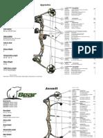 2011 Bear Archery Specs