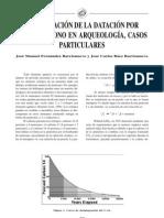 La Aplicacion de La Datacion Por Radiocarbono en Arqueologia, Casos Particulares