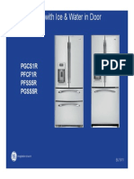 GE Bottom Freezer With Ice and Water in Door Repair Manual