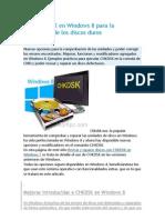 CHKDSK en Windows 8