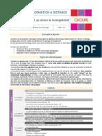 Descriptif Formation TBI Pour l Enseignement Des Langues