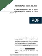 den+¦ncia - art. 302 II III IV - sem verificar o completo desembarque do passageiro - Almir
