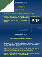 Direito de Fam+¡lia - Aulas 3-¬ e 4-¬