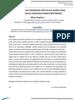 American Customer Satisfaction Model (ACSI Model)