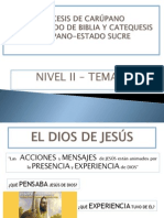 El Dios de Jesus Tema 03