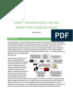 UPnP SmartGrid Whitepaper_November 2011