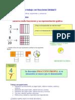 Guia de trabajo con fracciones Unidad 2.doc