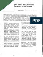 48-1988 Consideraciones Acerca de La Interaccion Terreno Estructura en Los Tuneles