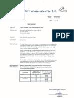 Light Dynamic Cone Report Sample