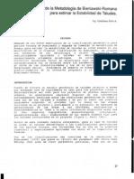 64-1994 Una Extension de La Metodologia de Bieniawski-Romana Para Estimar La Estabilidad de Taludes