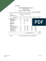 Analisis Costos Unitarios La Joya