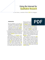 Using the Internet for Qualitative Research
