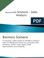 Sales Analysis -SAP BW