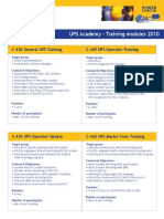 Training Modules 2010