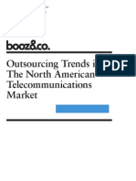 Outsourcing Trends in the North American Telecommunications Market