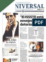 PLANAS DE LOS PRINCIPALES DIARIOS DE MÉXICO. Domingo 14 de julio 2013