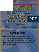 2 Treatment of Pulpitis With Biological, Vital Amputational and Extirpation Methods-1