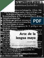 Acuña-Arte de la Lengua Maya