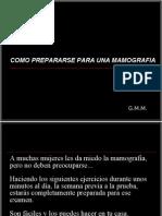 Como Prepararse Para Una Mamografia