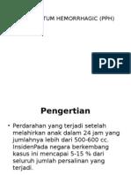 Post Partum Hemorrhagic (Pph) Power Point