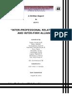 interprofessinal & inter-firm.doc